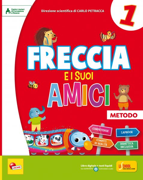 ADO73360 COPERTINA FRECCIA E I SUOI AMICI METODO 1