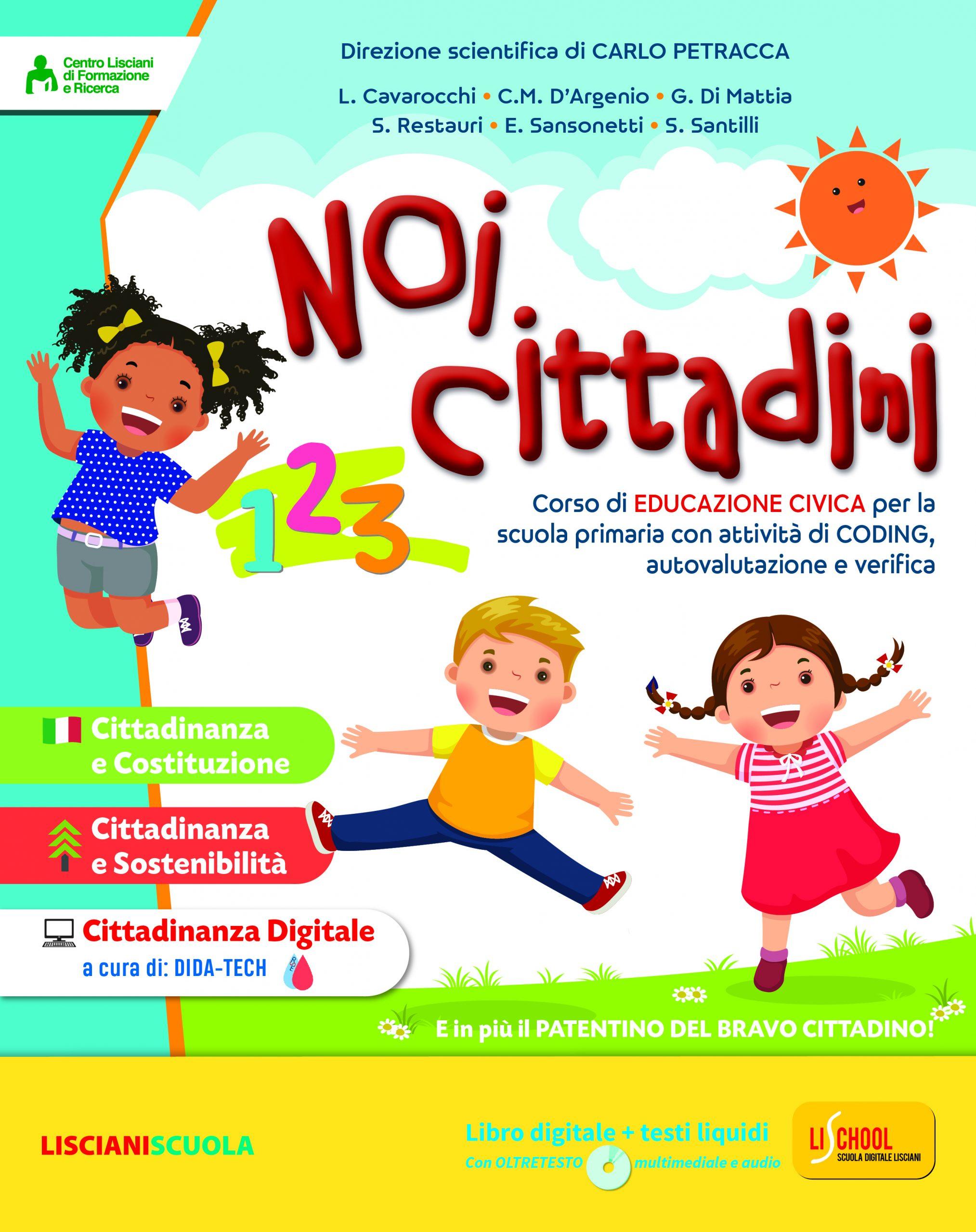 A Scuola Con Me Metodo 4 Caratteri 1 2 3 Lisciani Scuola